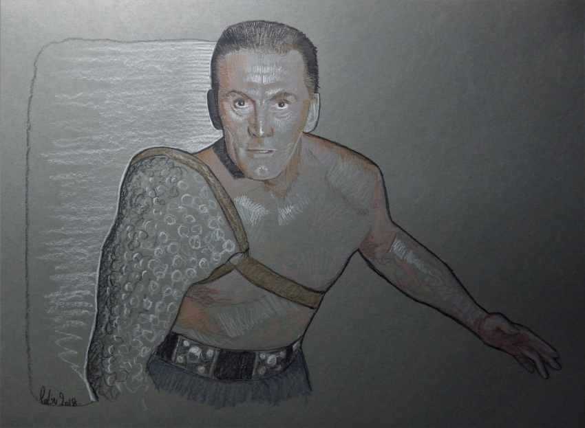 Kirk Douglas by stephane014